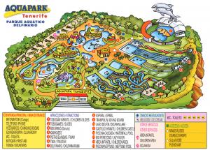 karta aquapark tenerife 300x215 Аквапарк Тенерифе