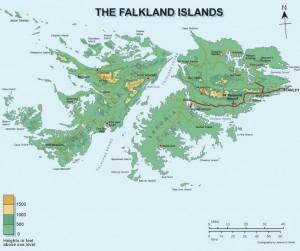 falklands islands map 300x251 Фолклендские острова