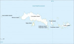 South Orkney Islands map 300x178 Южные Оркнейские острова (South Orkney Islands)