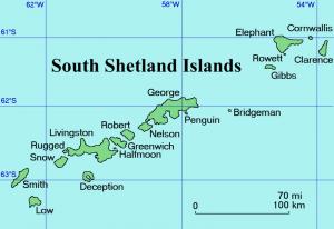 South Shetland Islands Map 300x206 Южные Шетландские острова